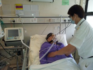 Comparison of BiPAP Nasal Ventilation and Ventilation via Iron Lung in Severe Stable COPD: Materials and Methods